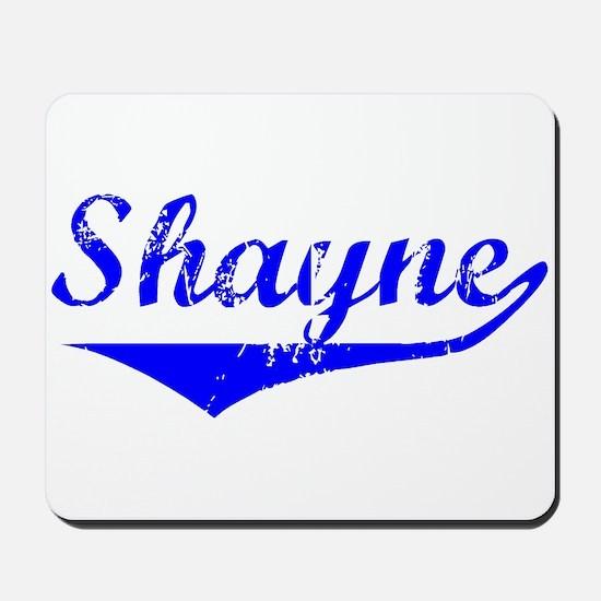 Shayne Vintage (Blue) Mousepad