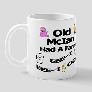 Old McIan Had a Farm Mug