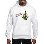 Season's Greetings - Holly Hooded Sweatshirt