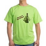 Season's Greetings - Holly Green T-Shirt