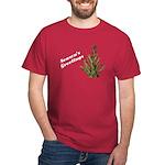 Season's Greetings - Holly Dark T-Shirt