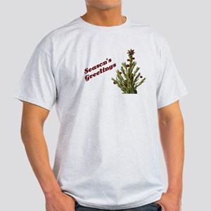 Season's Greetings - Holly Light T-Shirt