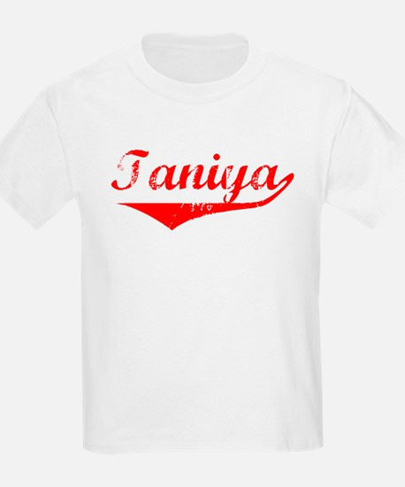 Taniya Vintage (Red) T-Shirt