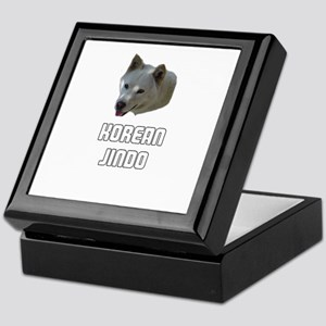 Korean Jindo Keepsake Box