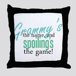 Grammy's the Name, and Spoiling's the Game! Throw