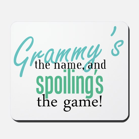 Grammy's the Name, and Spoiling's the Game! Mousep