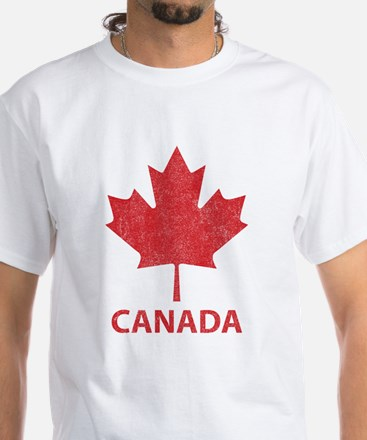 Vintage Canada White T-Shirt