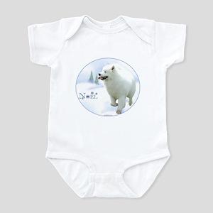Samoyed Noel Infant Bodysuit