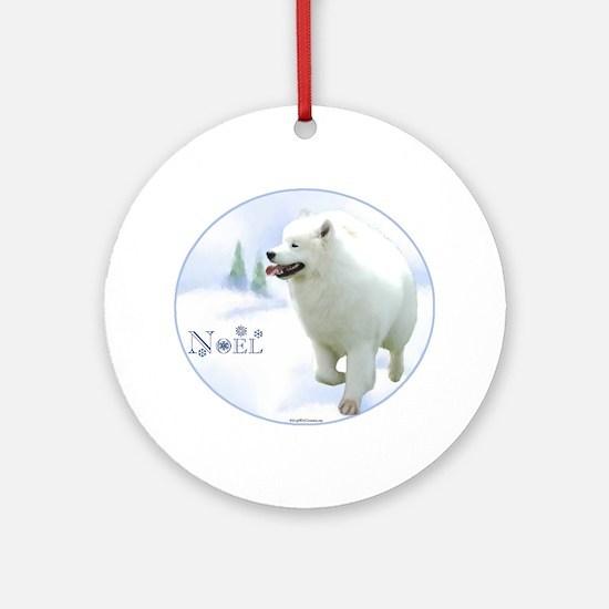 Samoyed Noel Ornament (Round)