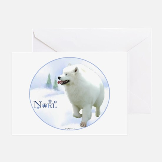 Samoyed Noel Greeting Card