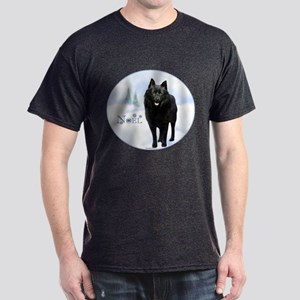 Schipperke Noel Dark T-Shirt