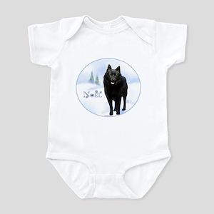 Schipperke Noel Infant Bodysuit