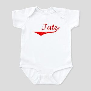 Tate Vintage (Red) Infant Bodysuit