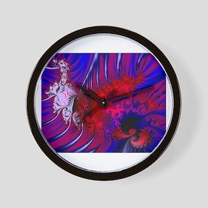 """Satin Passion"" Wall Clock"