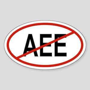 AEE Oval Sticker