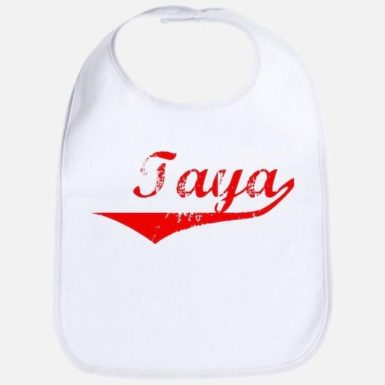 Taya Vintage (Red) Bib