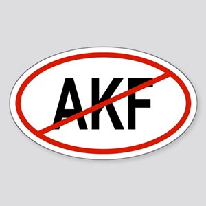 AKF Oval Sticker