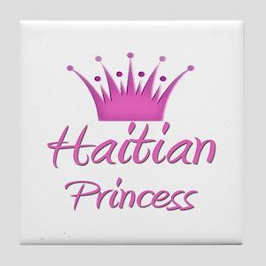 Haitian Princess Tile Coaster