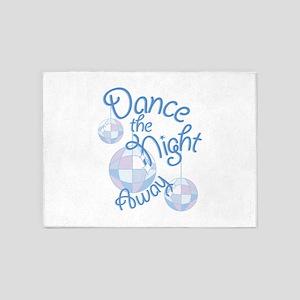 Dance Night Away 5'x7'Area Rug