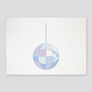 Disoc Ball 5'x7'Area Rug