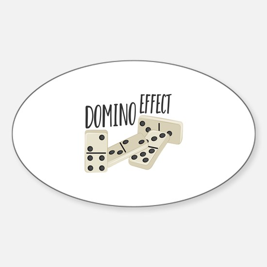 Domino Effect Decal