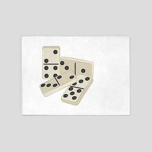 Dominoes 5'x7'Area Rug