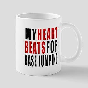 My Hear Beats For Base Jumping Mug