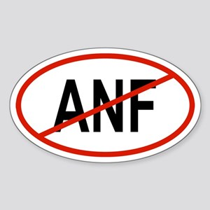 ANF Oval Sticker