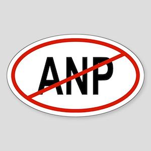ANP Oval Sticker