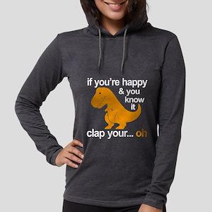 T-Rex clap your h Long Sleeve T-Shirt
