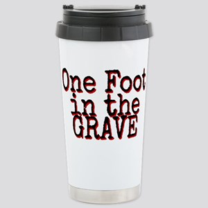 One foot in the Grave Travel Mug