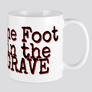 One foot in the Grave Mugs