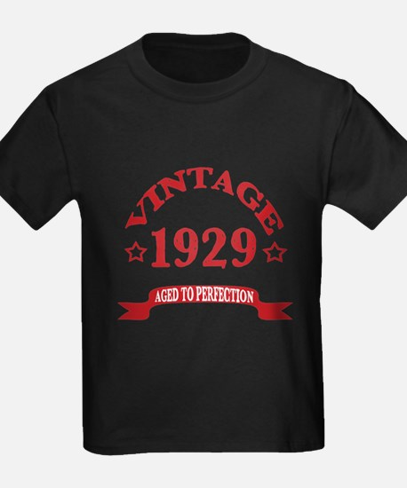 Vintage 1929 Aged To Perfection T