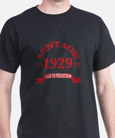 Vintage 1929 Aged To Perfection T-Shirt