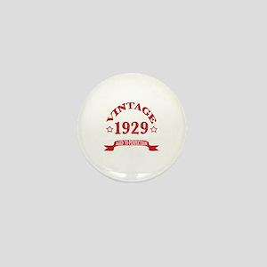 Vintage 1929 Aged To Perfection Mini Button