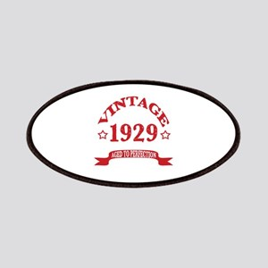Vintage 1929 Aged To Perfection Patch