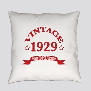 Vintage 1929 Aged To Perfection Everyday Pillow