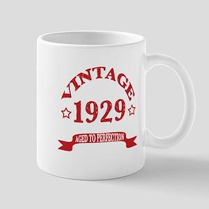 Vintage 1929 Aged To Perfection 11 oz Ceramic Mug