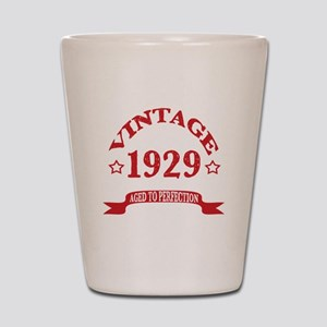 Vintage 1929 Aged To Perfection Shot Glass