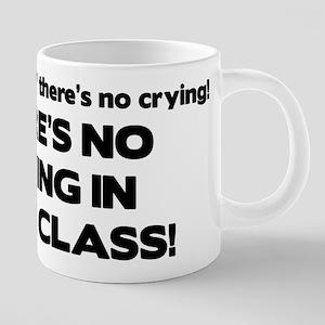 There's No Crying Math Class Mugs