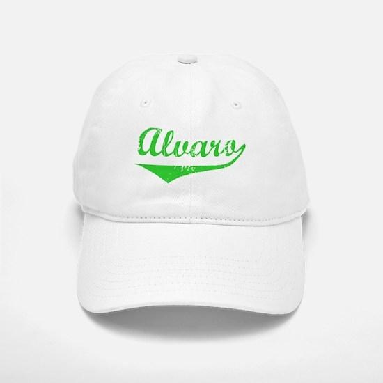 Alvaro Vintage (Green) Baseball Baseball Cap