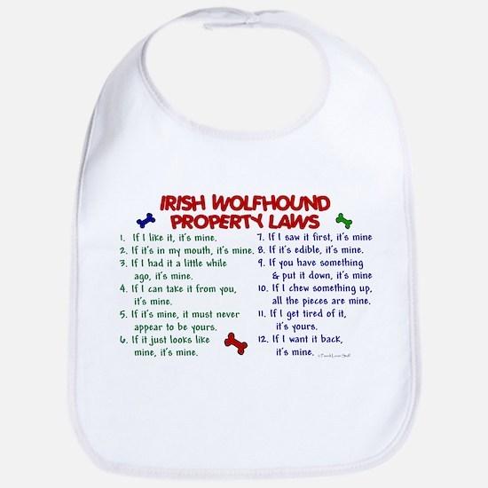 Irish Wolfhound Property Laws 2 Bib