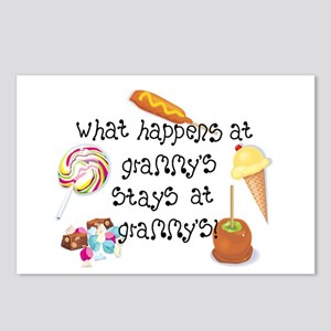 What Happens at Grammy's... Postcards (Package of