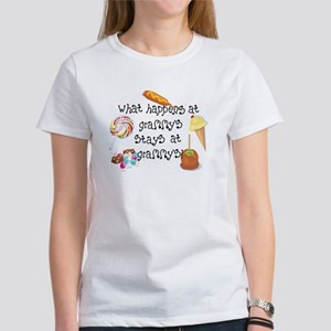 What Happens at Grammy's... Women's T-Shirt