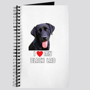 I Love My Black Lab Journal