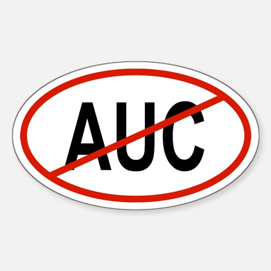AUC Oval Decal