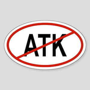 ATK Oval Sticker