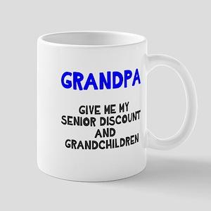 Grandpa Papa Give Me My Grandchildren Mug