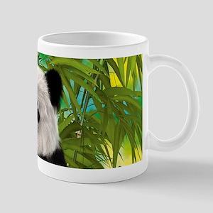 3D Rendering Panda Bear Mugs