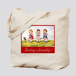 """Knitting"" Tote Bag"